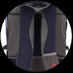 London Schulrucksack mit weich gepolstertem Rücken