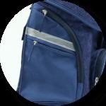 Pro Light mit zwei Seitentaschen und extra RV-Fach