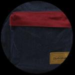 Fronttasche mit Reißverschluss