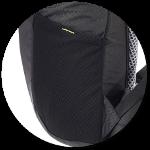 dehnbare Seitentasche