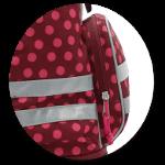 Geräumige Seitentasche