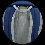 ergonomische Schulterträger und weiche Polsterung
