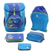 4956983253f01 Deuter OneTwo Schulrucksack Set - Sneaker Bag 5-tlg. indigo-sea