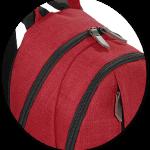 Minirucksack mit großem Hauptfach