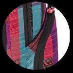 dehnbare Seitentaschen