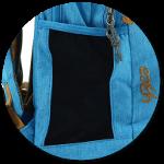Seitentaschen des YZEA Pro