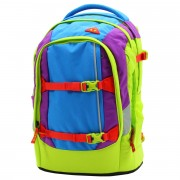 8c5174175bdd2 satch Schulrucksack pack Flash Runner Color Block Lila