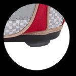 Stabile Bodenplatte mit Stellfüßen