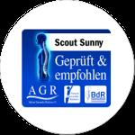 Scout Sunny empfehlenswert ausgezeichnet von der Aktion Gesunder Rücken e.V.