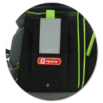Flexible Seitentaschen