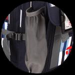 elastische Seitentaschen mit Gummizug