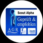 Scout Alpha empfehlenswert ausgezeichnet von der Aktion Gesunder Rücken e.V.