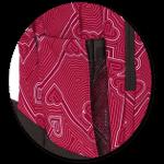 zwei Seitentaschen mit Mesh-Einsatz
