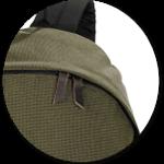 Reißverschlusszipper aus Leder