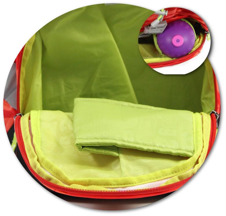 Die geräumige Frottasche vom ergobag pack 2016 Schulranzen